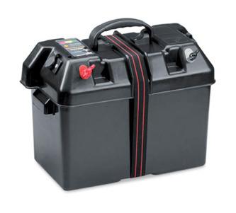 Batterilåda med dubbla 12volts uttag 995:-