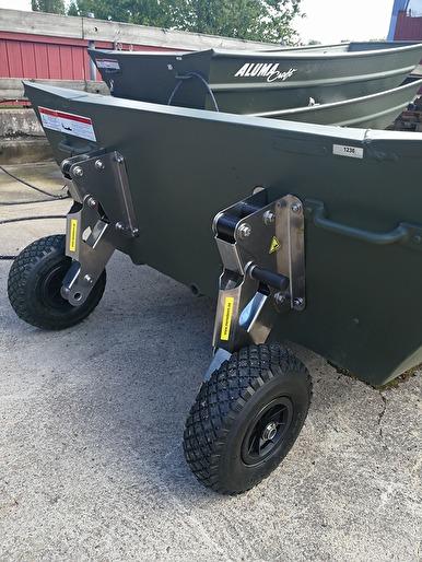 Transporthjul inkl. montering 3995:-
