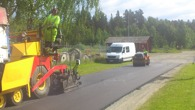 Asfaltering vägförening i Stugun