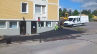 Handikappanpassning Stugun  asfaltering och grusjobb