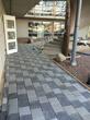 Stenläggning i atrium på ålderdomshemmet i Hammartrand
