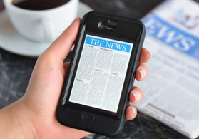 Nyheter om att betala mobilt och andra smarta betalningslösningar.