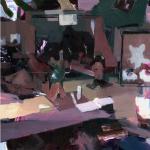 Assignment - Olja på pannå - ca 50x40 cm