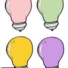Vävda Glödlampor