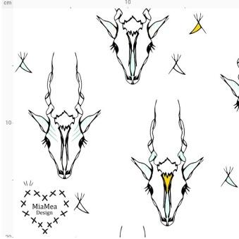 1,2 m klipp! Antelope II sort