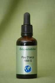 PAU DÁRKO 1000G - PAU D ARCO 1000 G 50ml