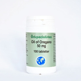 Oil of Oregano 50mg 100tabletter - Oil of Oregano 50mg