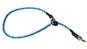 Dressyrstryp m reflex 0,6*40cm - Dressyrstryp med invävd reflex och plaststopp 0,6*45cm blå