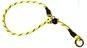 Dressyrstryp m reflex 0,6*40cm - Dressyrstryp med invävd reflex och plaststopp 0,6*45cm gul