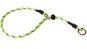 Dressyrstryp m reflex 0,6*40cm - Dressyrstryp med invävd reflex och plaststopp 0,6*45cm limegrön