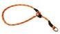 Dressyrstryp m reflex 0,6*40cm - Dressyrstryp med invävd reflex och plaststopp 0,6*45cm orange