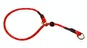 Dressyrstryp m reflex 0,6*40cm - Dressyrstryp med invävd reflex och plaststopp 0,6*45cm röd