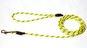 Koppel rundreflex - reflexkoppel rund 0,6*190cm invävd reflex gul