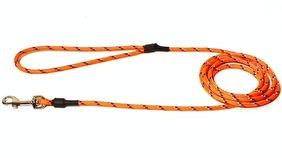 Koppel rundreflex - reflexkoppel rund 0,6*190cm invävd reflex orange