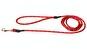 Koppel rundreflex - reflexkoppel rund 0,6*190cm invävd reflex röd