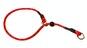 Dressyrstryp m reflex 0,6*60cm - Dressyrstryp med invävd reflex och plaststopp 0,6*60cm röd