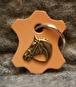 Nyckelring - Nyckelring brunt läder