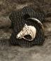 Nyckelring - Nyckelring svart läder