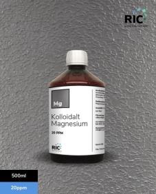 Kolloidalt Magnesium – 500ml / 20ppm - Kolloidalt Magnesium – 500ml / 20ppm