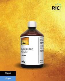 Kolloidalt Guld – 500ml / 10ppm - Kolloidalt Guld – 500ml / 10ppm