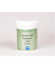 Vitaminer C.A & D VDK + Zn 100 vk - Vitaminer C.A & D VDK + Zn 100 vk