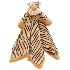 Dinglis snuttefilt Tiger - Dinglis snutte Tiger
