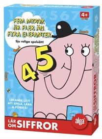 Alga, fem myror är fler än fyra elefanter, Lär om Siffror - Alga, fem myror är fler än fyra elefanter, Lär om Siffror