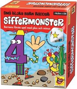 ALF,Barnspel, Små Kloka Barn Räddar Siffermonster - ALF, Små Kloka Barn Räddar Siffermonster