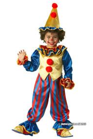 Clowndräkt, barn stl 134/140 - Clowndräkt, barn stl 134/140