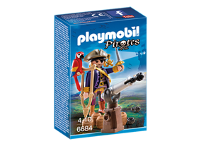 PLAYMOBIL 6684 Piratkapten - PLAYMOBIL 6684 Piratkapten