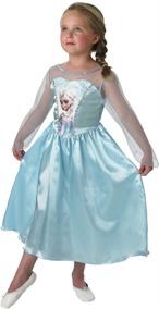 Frost, Frozen Elsa klänning, 128 - Frost, Frozen Elsa klänning, 128