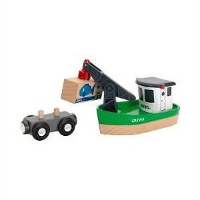 BRIO, Lyftkransbåt -  BRIO, Lyftkransbåt