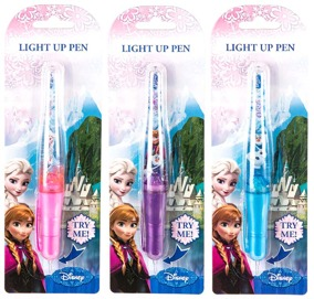 Frozen light up pen - Frozen light up pen Elsa