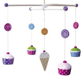 Jabadabado trämobil cupcake - Jabadabado trämobil cupcake