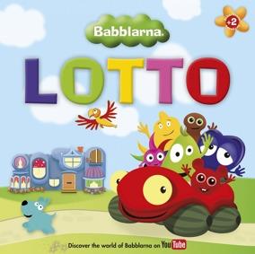 Babblarna Lotto spel - Babblarna Lotto spel