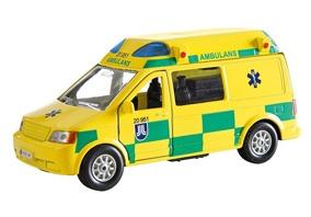 Junior Drive, Ambulans Van med ljud o ljus - Junior Drive, Ambulans Van med ljud o ljus
