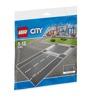Lego City 7280, Rak väg och korsning