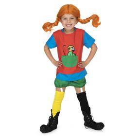 Micki, Pippi Långstrump kläder, 2-4år - Micki, Pippi Långstrump kläder, 2-4år