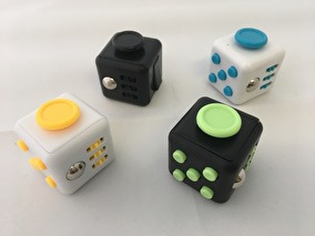 Fidget Cube - Fidget cube vit/gul