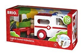 Brio Ambulans med ljud och ljus - Brio Ambulans med ljud och ljus