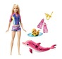 Barbie Delfinset - Dolphin Magic , Sjöjungfru Snorkelset