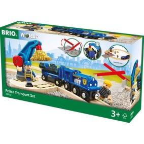 Brio Tåg Police Transport set - Brio Tåg Police Transport set
