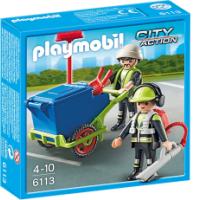 Playmobil 6113 renhållningsteam