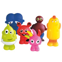 Babblarna plastfigurer 6-pack
