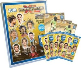 1st Mega Starter Pack Nordic Edition Panini Adrenalyn XL FIFA 365 2017-18 - 2018 - 1st Mega Starter Pack Nordic Edition Panini Adrenalyn XL FIFA 365 2017-18 Pärm, spelplan, 5 boosters, 2 Limited Ed. & 1 XXL Limited Ed.