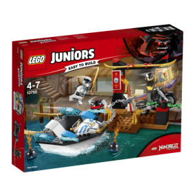 10755 Lego Juniors Zanes ninjabåtjakt - 10755 Lego Juniors Zanes ninjabåtjakt