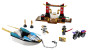 10755 Lego Juniors Zanes ninjabåtjakt