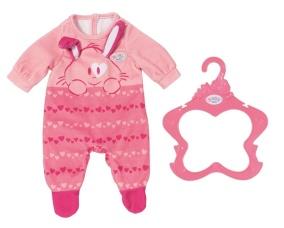 Baby Born Pyjamas Sparkdräkt - Baby Born Rosa Pyjamas Sparkdräkt
