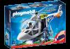Playmobil 6921 Polishelikopter med LED-sökljus