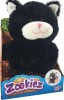 Zookiez mjukisdjur med twist, svart katt
